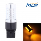 MZ T20 10W COB LED Decode Car Steering Light Yellow 560nm 400lm w/ Constant Current (12~24V)