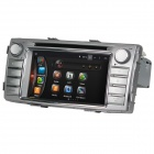 "LsqSTAR 6.2"" Android 4.4 Car DVD Player w/ GPS, Wi-Fi, FM, SWC, AUX for Toyota Hilux 2012"
