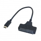 "CY U3-215 Type C USB 3.1 Male to SATA 22 Pin 2.5"" HDD / SSD Adapter Cable for Macbook"
