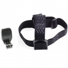 Headband + Backpack Clip for GoPro Hero, SJ4000, SJ5000,Xiaoyi - Black