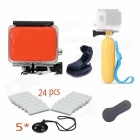 Summer Water Accessories Kit for Gopro Hero 4 / 3+ / 3 / 2 / 1 Camera