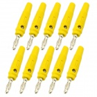 Jtron Lantern Plug Silicone Soft Sheathed Banana Connectors (10PCS)