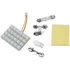 24-LED Door Light for Vehicles (White)
