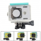 Kingma Waterproof Housing Case Shell for Xiaomi Xiaoyi Digital Camera - Blue Green