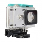 Kingma Waterproof Housing Case Shell for Xiaomi Xiaoyi - Blue Green