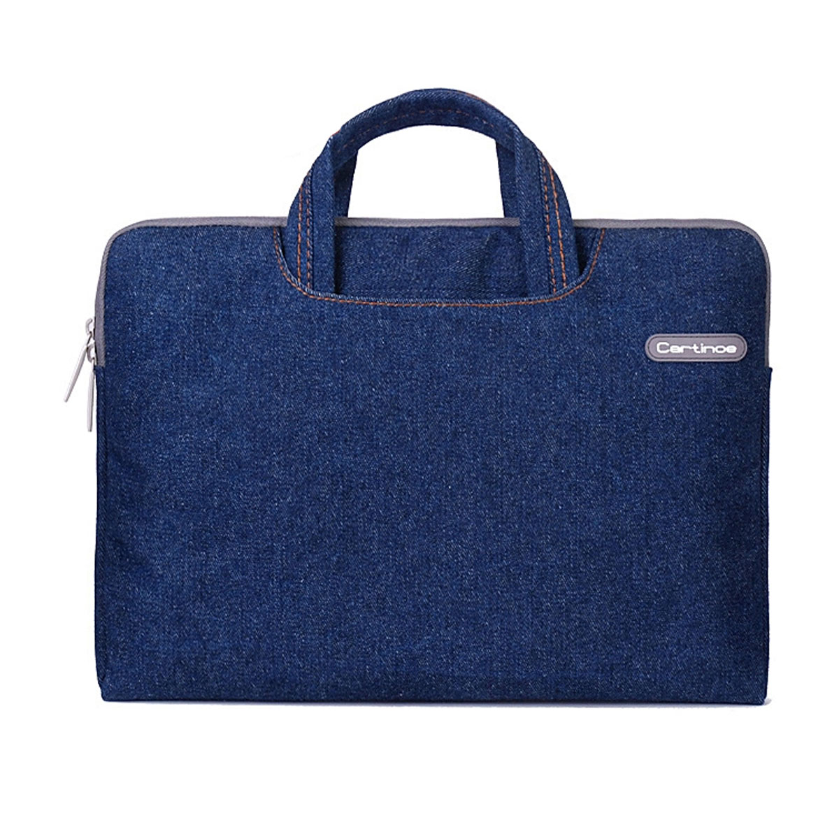 "Cartinoe Classic Jeans Laptop Inner Sleeve Bag for MacBook 12"" - Blue"
