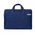 Cartinoe clásicos Jeans Laptop manga bolsa interior para Apple MacBook de 12 pulgadas - azul