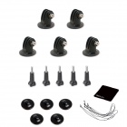 21-in-1 Camera Mounting Accessories Kit for GoPro Hero - Black