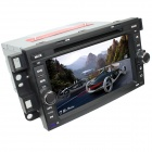 "LsqSTAR 7"" Android 4.4 Car DVD Player GPS for Captiva - Black"