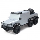 1:10 Scale 6 x 6 4-CH 2.4GHz Remote Control R/C Climbing Off-Road Vehicle Car Model Toy - Grey