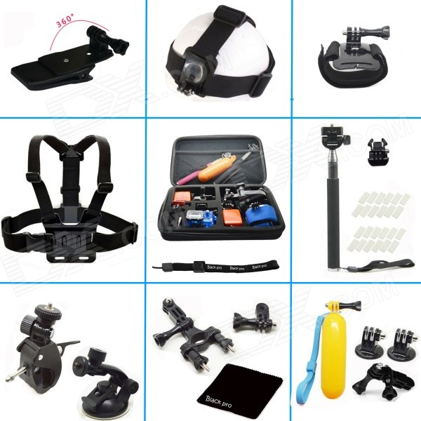 20-in-1 Accessories Bundle Kit for Gopro Hero 4 / 3+ / 3 / 2 / 1