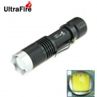 (1 x 18650) Black - Ultra XM-L T6 1-LED 900lm 5-Mode White Light Taschenlampe w / Clip