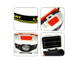 Outdoor Cycling White + Red Light 280lm 3-LED 4-Mode Headlamp (3*AAA)