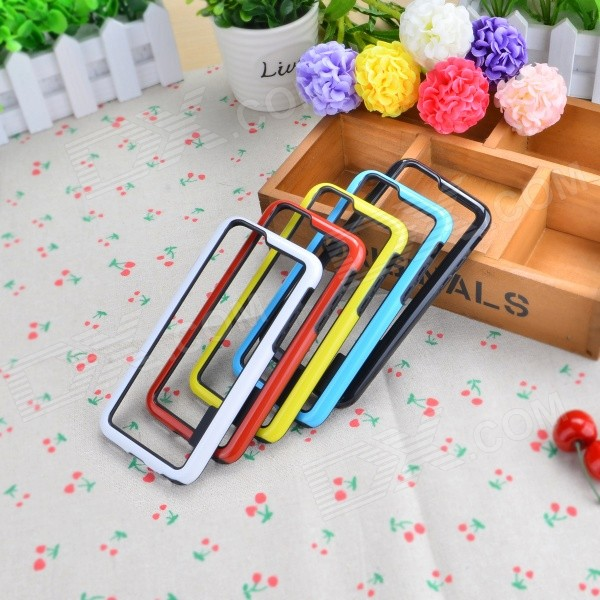 Durable &amp; Ultrathin Frame Cases for IPHONE 6 - Mixed Color (5PCS)TPU Cases<br>Form ColorMixed ColorQuantity1 DX.PCM.Model.AttributeModel.UnitMaterialOthers,Polycarbonate + TPUCompatible ModelsIPHONE 6DesignMixed ColorStyleBumper CasesPacking List5 x Protective Frame Cases<br>