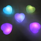 Heart Shaped Colorful Romantic Decoration Lamp Nightlight (5PCS)