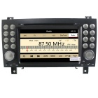 "LsqSTAR 7"" Car DVD Player w/ GPS Bluetooth FM SWC AUX for Benz SLK 171 SLK200 /280 /350 /55"