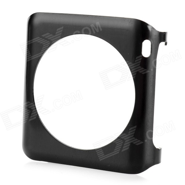 Aluminum Alloy Watch Screen Protector for 38mm APPLE WATCH - Black