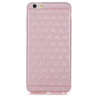 USAMS Rhombus Pattern Protective TPU Back Case Cover for IPHONE 6 PLUS - Translucent Pink