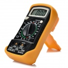 "HYELEC MAS830L Digital 1.8"" LCD Multimeter w/ Manual Range, Diode Test, Backlight - Black + Orange"