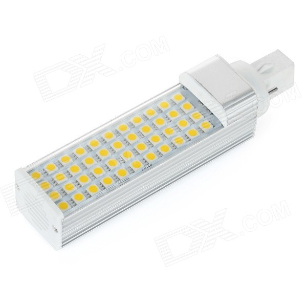 G24 9W 3500K 550lm 44-SMD 5050 Warm White Lamp (AC 85~265V)