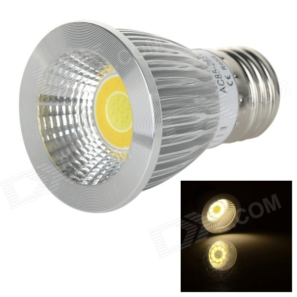 E27 5W 160lm Color Temperature Adjustable COB LED Spotlight (85~265V)