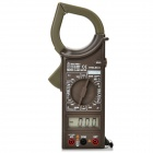 "HYELEC M266 Digital 1.9"" LCD 1000A AC Clamp Multimeter - Deep Brown (1 x 6F22)"