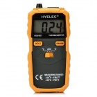 "HYELEC MS6501 K-Type Digital 1.7"" LCD Temperature Meter Thermometer - Black + Orange"
