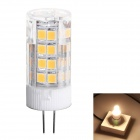 G4 3.5W 350lm 3000K 51-SMD 2835 LED Warm White Light Minitype Corn Bulbs (AC 220~240V)