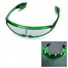 Party Ball 8-LED 3-Mode Cool Glasses - Green (3 x AG13)