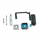 Power Switch + Volume / Home Button + Lens Cover for Samsung S5 -Black