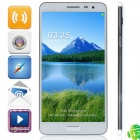 "N9000 MTK6582 Quad-Core Android 4.4 3G Bar Phone w/ 5.7"" IPS HD,1GB + 8GB,OTG, Wi-Fi, GPS - Black"