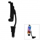 5V / 1.5A Output Car Charger w/ 180' Rotation Holder - Black