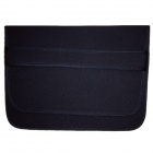 "RUITAI Stylish Protective Soft Bag for 12"" Laptop Notebook - Black + Red"