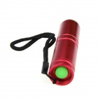 Ultrafire HP-1 xp-e R5 LED 400lm 3 modos de zoom de la linterna de color blanco - rojo