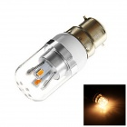 B22 3W 190lm 8 x SMD 5730 LED Warm White Light Lamp Bulb (AC 85~265V)