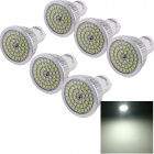 YouOKLight GU10 6W 580lm 6000K 48-SMD 2835 White Light LED Spot Light Bulb  (110~240V / 6 PCS)