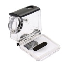 PANNOVO G-872 Waterproof Case for Xiaomi Xiaoyi - Transparent + Black