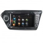 "LsqSTAR ST-8044C 8"" Android 4.4 Car DVD Player w/ GPS, BT, Wi-Fi, FM, IPOD, AUX for KIA K2 / Rio"