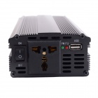 HOT-A1-00018 2000W Car USB DC 24V to AC 220V Power Inverter - Black