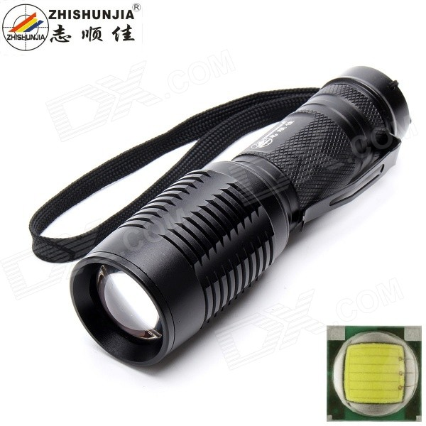 ZHISHUNJIA 101B-T6 XM-L2 T6 LED 900lm 5-Mode White Zooming Flashlight