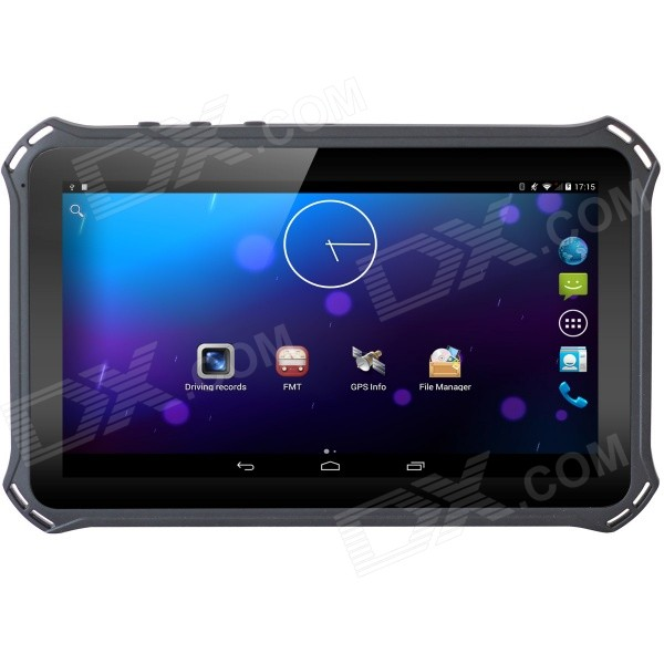 "7"" Android 4.4 GPS 1080P Car DVR Tablet Wi-Fi 2G Phone EU Map - Black"