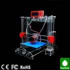 Prusa-I3 High Precision Acrylic Frame 3D Printer w/ LCD Display (1.75mm Filament / 0.4mm Nozzle)