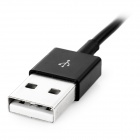 MINI SMILE USB2.0 to Magnetic Cable for Sony Z3 + More - Black (2PCS)
