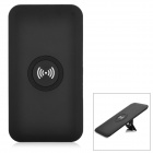 Cwxuan Qi Wireless Charger Kit w/ Foldable Stand for Samsung S5 / i9600 - Black