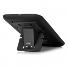 Cwxuan Qi Wireless Charger Kit w/ Stand for Samsung S5/i9600 - Black