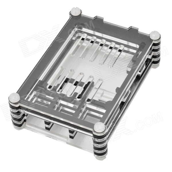 Protective Acrylic Shell Case for Raspberry Pi B+ / Model B
