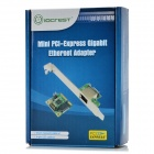 IOCREST SI-MPE24043 Mini PCI-Express Gigabit Ethernet Adapter - Green