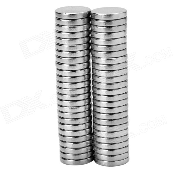16*3mm Round NdFeB Magnet - Silver (50PCS)Magnets Gadgets<br>ColorSilverMaterialNdFeBQuantity1 SetNumber50Suitable Age GrownupsOther FeaturesUsed for automobile engine oil filtration, so as to protect the engine.Packing List50 x Magnets<br>