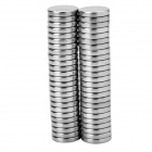 16*3mm Round NdFeB Magnet - Silver (50PCS)