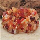 Carnelian Agate Gemstone Wide Stretch Bracelet